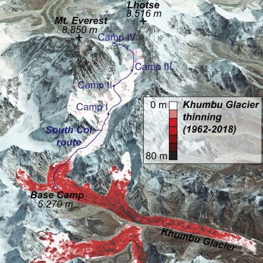 Six decades of increasing mass loss from Everest region glaciers