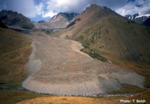 Accelerating rock glacier creep in Northern Tien Shan