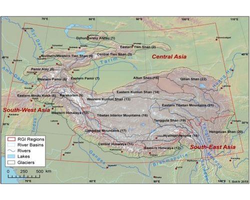 Subdivision of High Mountain Asia